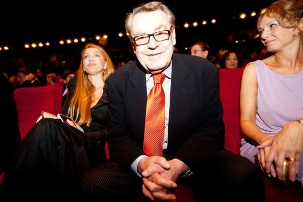 V Karlových varech byl 3. července 2009 zahájen 44. ročník Mezinárodního filmového festivalu Karlovy Vary. Na snímku režisér Miloš Forman. MIKULÁŠ KŘEPELKA / MEDIAFAX