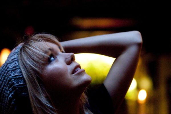 V Galerii FX Radost se 19. listopadu 2009  konal křest nového alaba Marie Rottrové s názvem Stopy. Na snímku zpěvačka Lucie Vondráčková. MIKULÁŠ KŘEPELKA / MEDIAFAX
