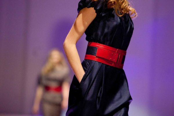 V Černínském paláci v Praze se 12. listopadu 2009 konala autorská módní přehlídka návrhářky Beaty Rajské. MIKULÁŠ KŘEPELKA / MEDIAFAX